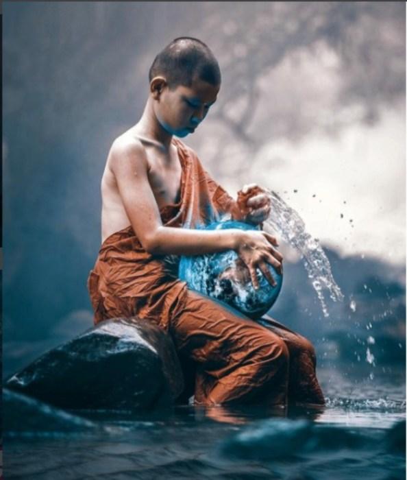Очищение мира. Автор: Huseyin Sahin.