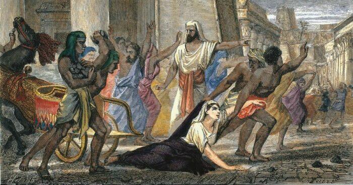 Смерть Гипатии Александрийской. \ Фото: elespanol.com.