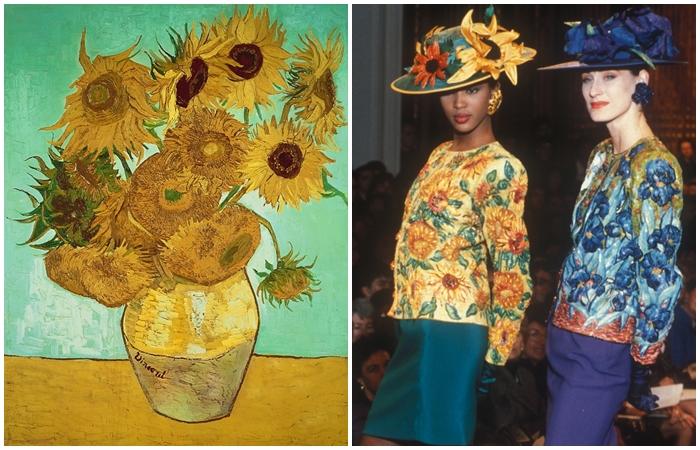 Как картины известных художников стали частью моды, сформировав новый стиль ХХ века