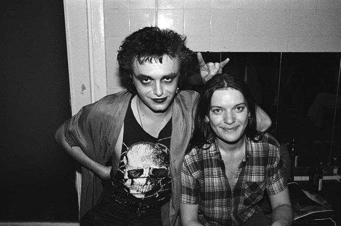 Алиса и Константин Кинчев, Вильнюс, 1988 год. Автор: Игорь Мухин.
