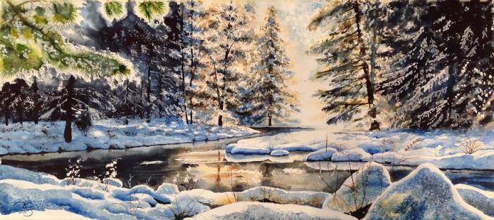 Зима. Автор: Игорь Дубовой.