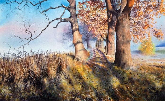 Осень. Автор: Игорь Дубовой.