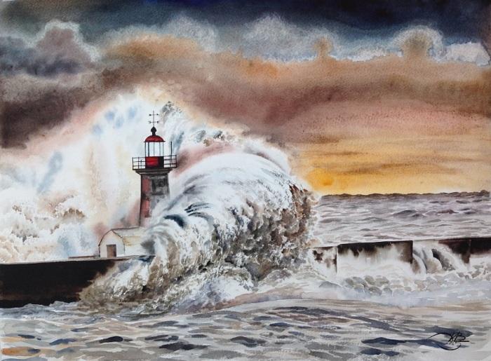 Море волнует раз... Автор: Игорь Дубовой.