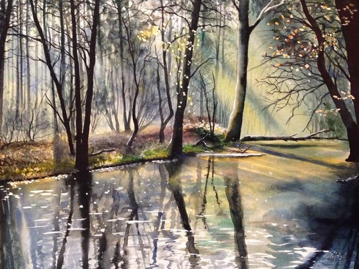 Весенний лес. Автор: Игорь Дубовой.