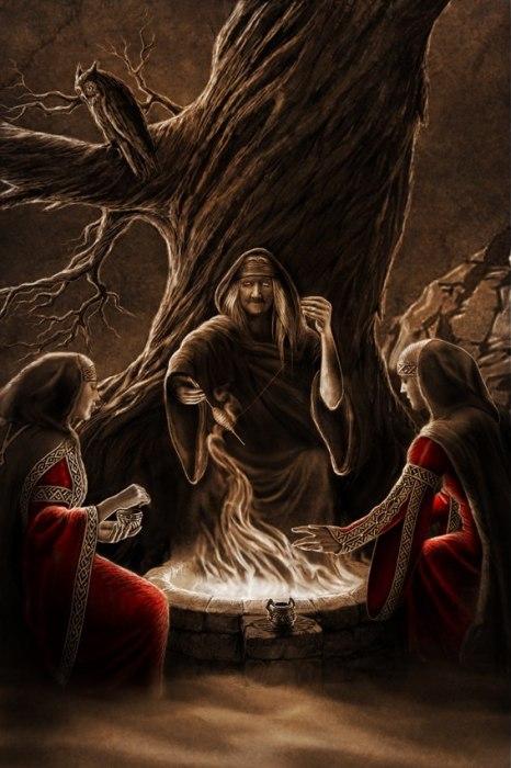 Макошь, Доля и Недоля. Автор: Игорь Ожиганов.