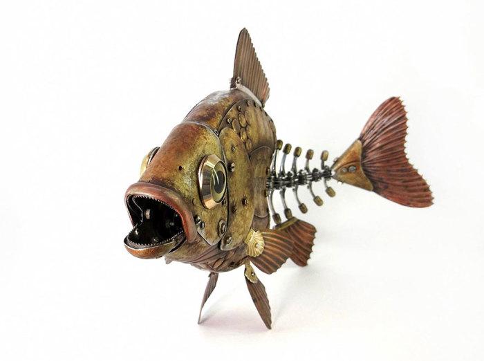 Золотая рыбка. Автор: Игорь Верный.