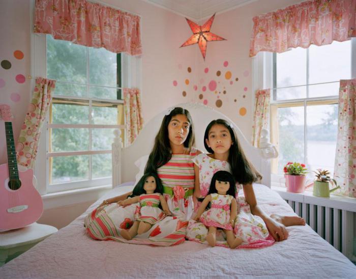 Сестры Майя и Лила (Maya and Leela), 2011 год. Автор фото: Ilona Szwarc.