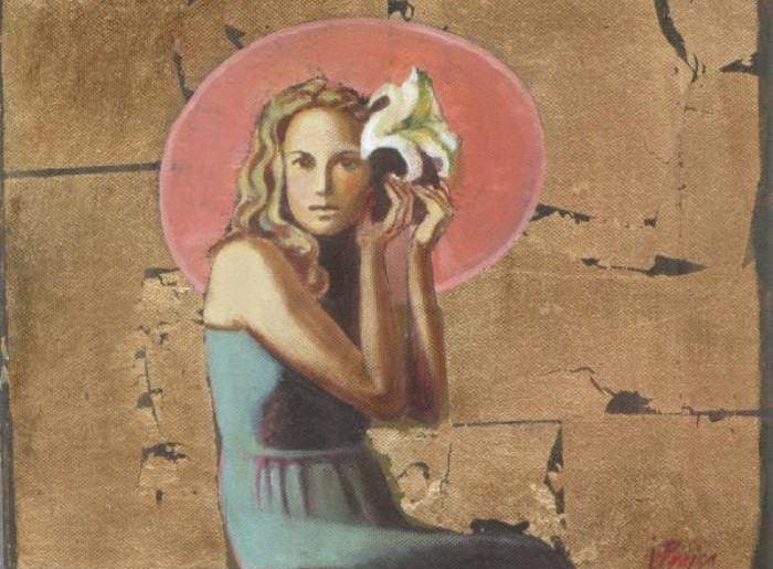 Девушка в шляпе. Автор: Ilze Preisa.