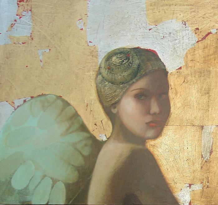 Девушка с крыльями. Автор: Ilze Preisa.