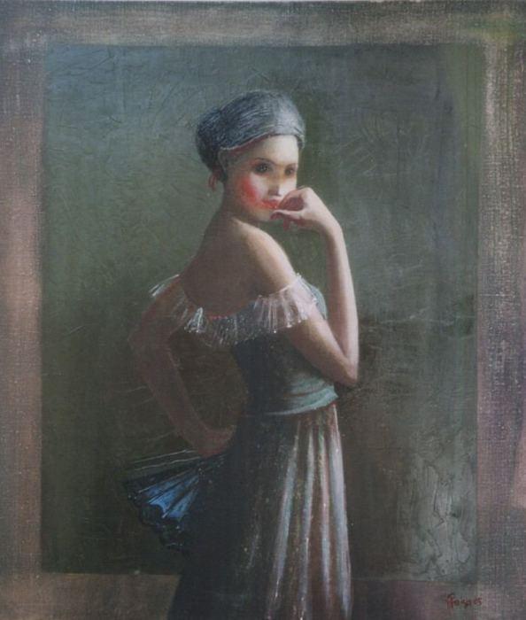 Алый след страсти. Автор: Ilze Preisa.