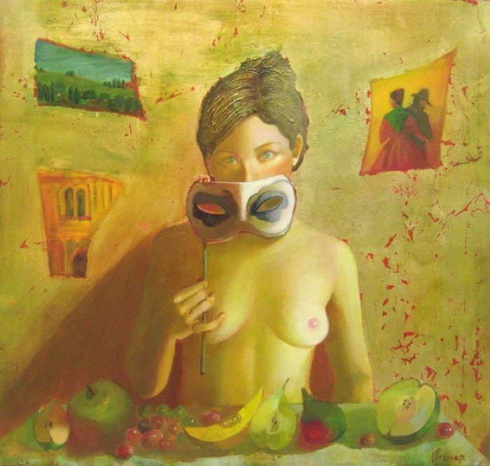 Исповедь маски. Автор: Ilze Preisa.