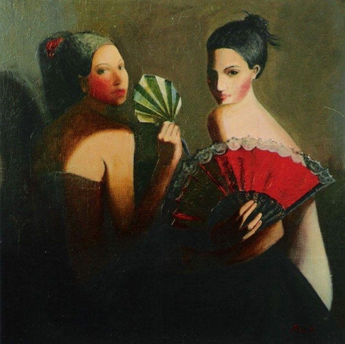 Танцовщицы. Автор: Ilze Preisa.