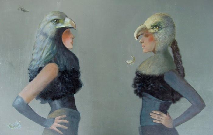 Говорящие птицы. Автор: Ilze Preisa.
