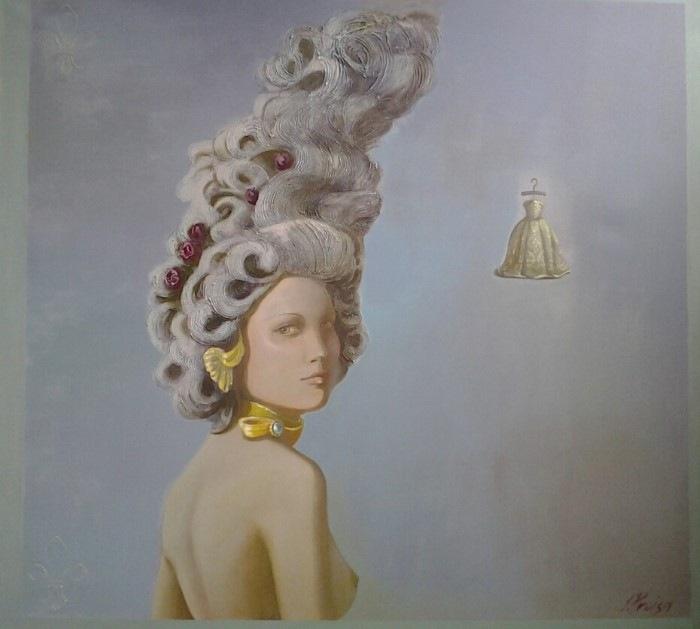 Портрет девушки. Автор: Ilze Preisa.
