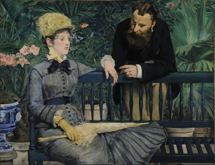 Эдуард Мане: В оранжерее, 1878—1879 гг.