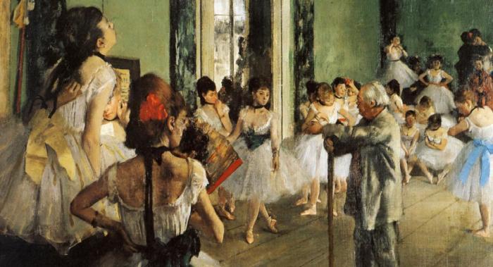 Танцевальный класс, Эдгар Дега. \ Фото: ilcentro.it.