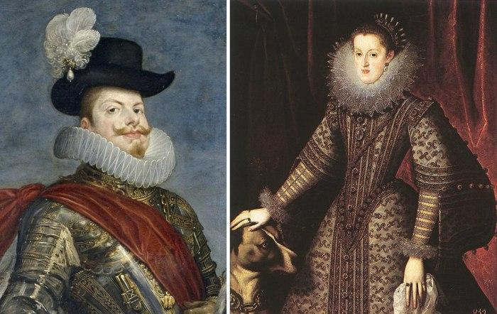 Король Филипп III и его супруга Маргарита Австрийская. \ Фото: google.com.