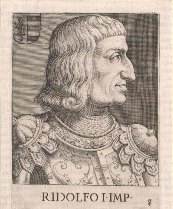 Король Рудольф I Габсбургский. \ Фото: europeana.eu.
