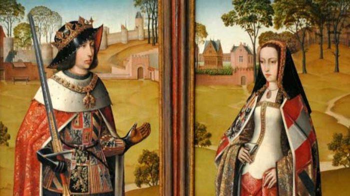 Филипп и  Хуана Кастильская. \ Фото: elcorreo.com.