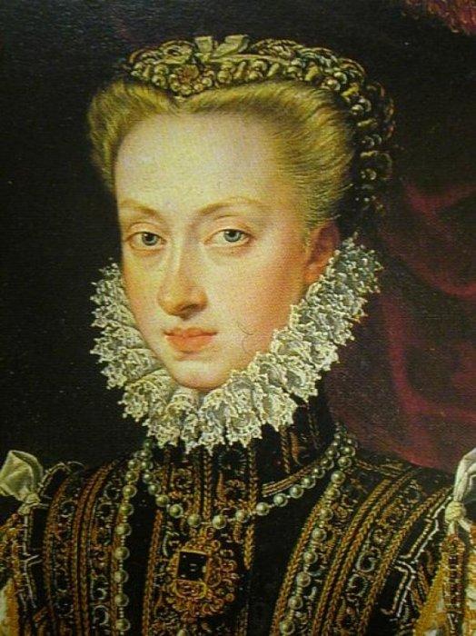 Анна Австрийская, королева Испании (1549-80), жена Филиппа II (1527-98). \ Фото: bjws.blogspot.com.