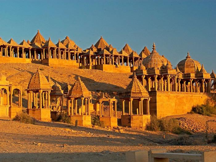 Дворец Джайсалмер в Раджастане. Индия.