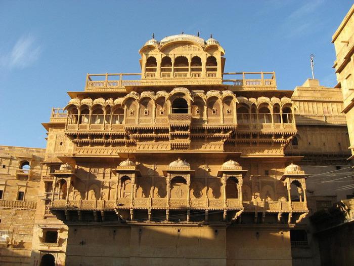 Дворец Джайсалмер в Раджастане.