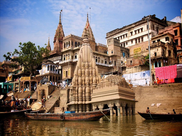 Набережная Варанаси. Индия.