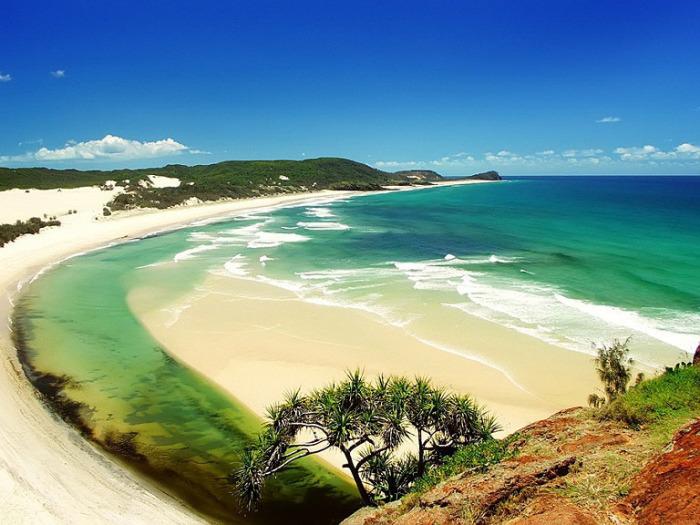 Красивейший индийский пляж.