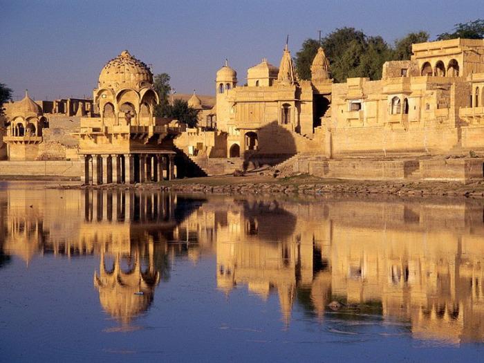 Один из красивейших дворцов. Джайсалмер в Раджастане.