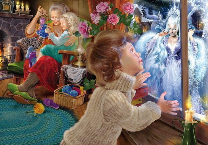 Сказочные иллюстрации. Автор: Инна Кузубова.