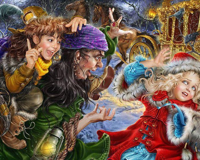 В работах Инны оживает невероятная сказка, дарящая ощущение чудес и волшебства.