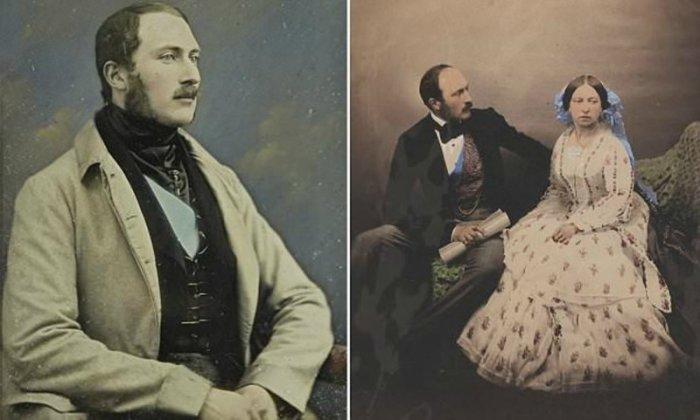 Слева: Принц Альберт. \ Справа: Принц Альберт и королева Виктория. \ Фото: wikipedia.org.