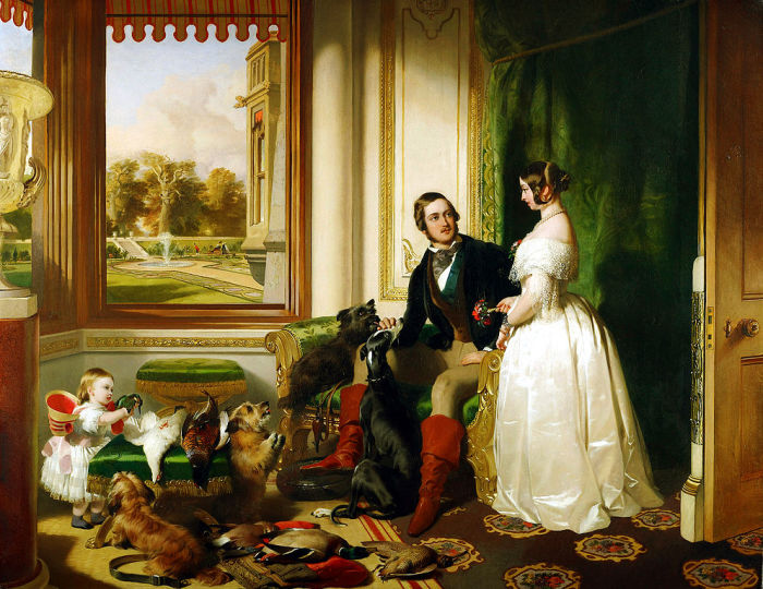 История королевской любви. \ Фото: wikipedia.org.