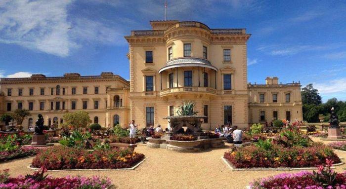 Королевская резиденция. \ Фото: pinterest.co.uk.