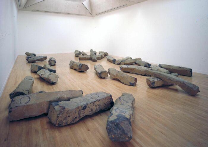 Йозеф Бойс: Конец двадцатого века, 1983-5 гг. \ Фото: pinterest.es.