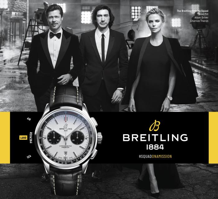 Он является одним из амбассадоров бренда «Breitling». \ Фото: fraserhart.co.uk.