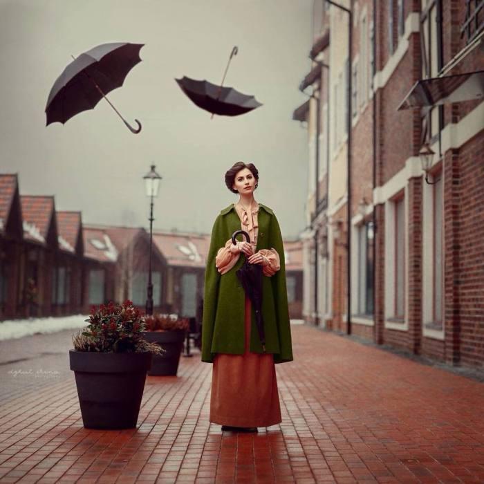 Зонтики. Автор: Ирина Джуль.