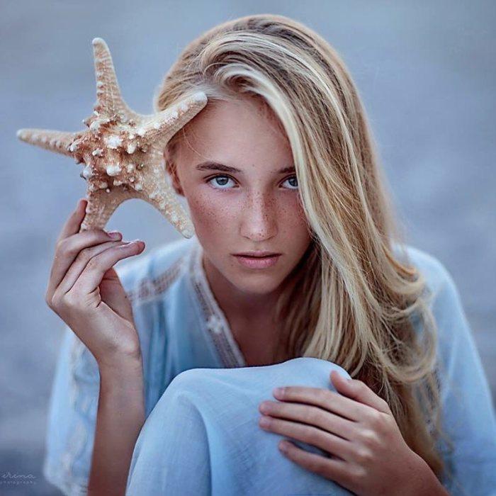 Морская звезда. Автор: Ирина Джуль.