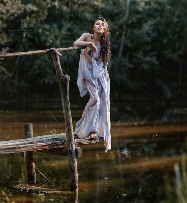 На мосту. Автор: Ирина Джуль.