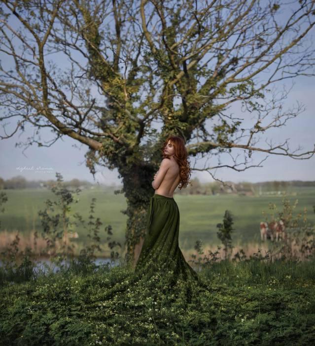 Дриада, снято в Нидерландах. Автор: Ирина Джуль.