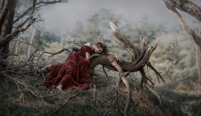 Тихий сон: Ирина, снято в Нидерландах. Автор: Ирина Джуль.