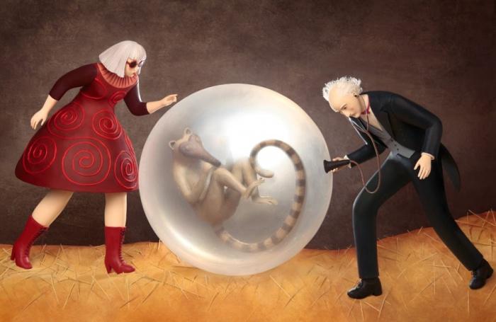 Пластилиновый мир Ирмы Грюнхольц (Irma Gruenholz).