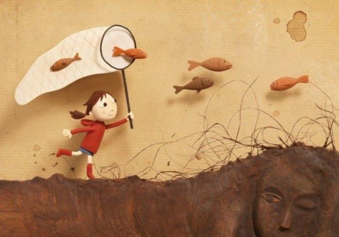 Беззаботное детство. Пластилиновый мир Ирмы Грюнхольц (Irma Gruenholz).