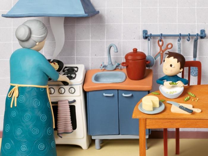 Бабушкин завтрак. Пластилиновый мир Ирмы Грюнхольц (Irma Gruenholz).