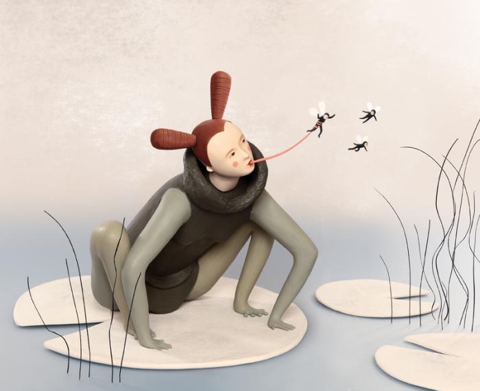 Полёт фантазии. Пластилиновый мир Ирмы Грюнхольц (Irma Gruenholz).
