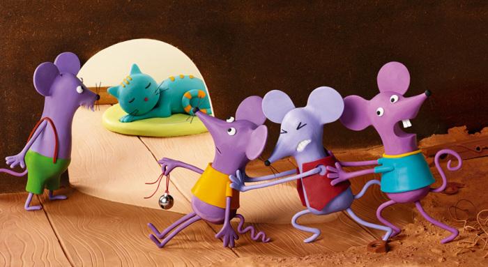 Кошки-мышки. Пластилиновый мир Ирмы Грюнхольц (Irma Gruenholz).