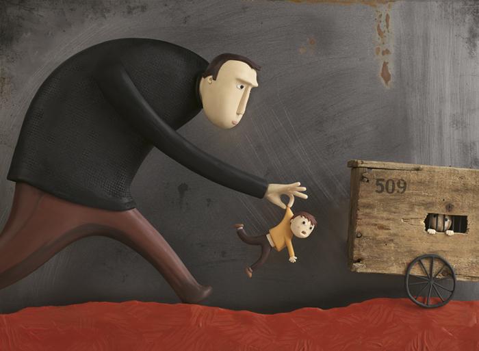 Страшная сказка. Пластилиновый мир Ирмы Грюнхольц (Irma Gruenholz).
