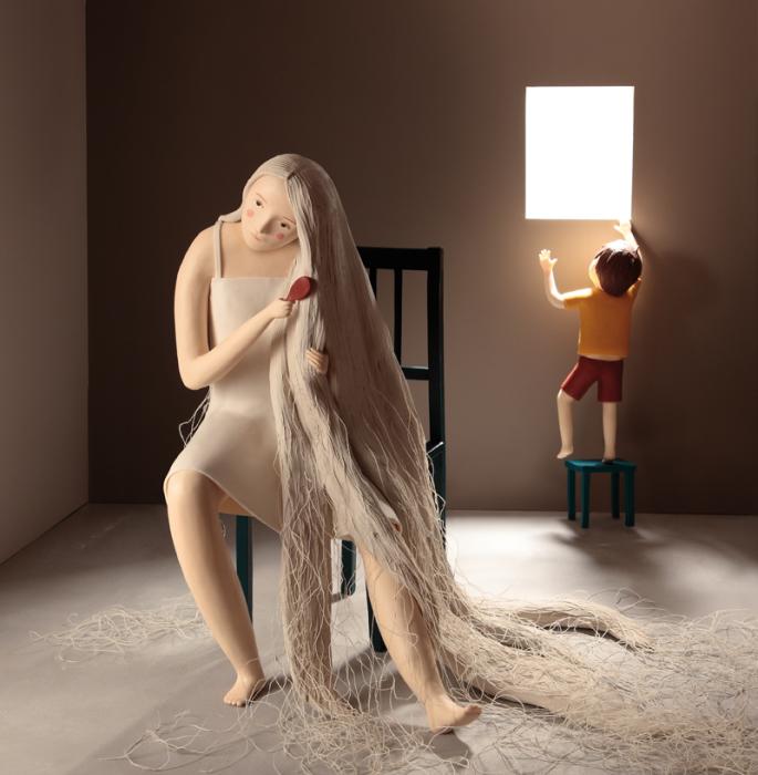 Сказочная принцесса. Пластилиновый мир Ирмы Грюнхольц (Irma Gruenholz).