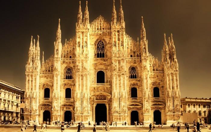 Миланский собор. Италия.