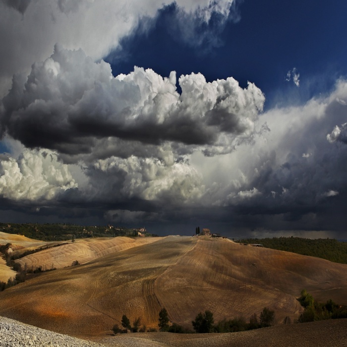 Холмы Тосканы.